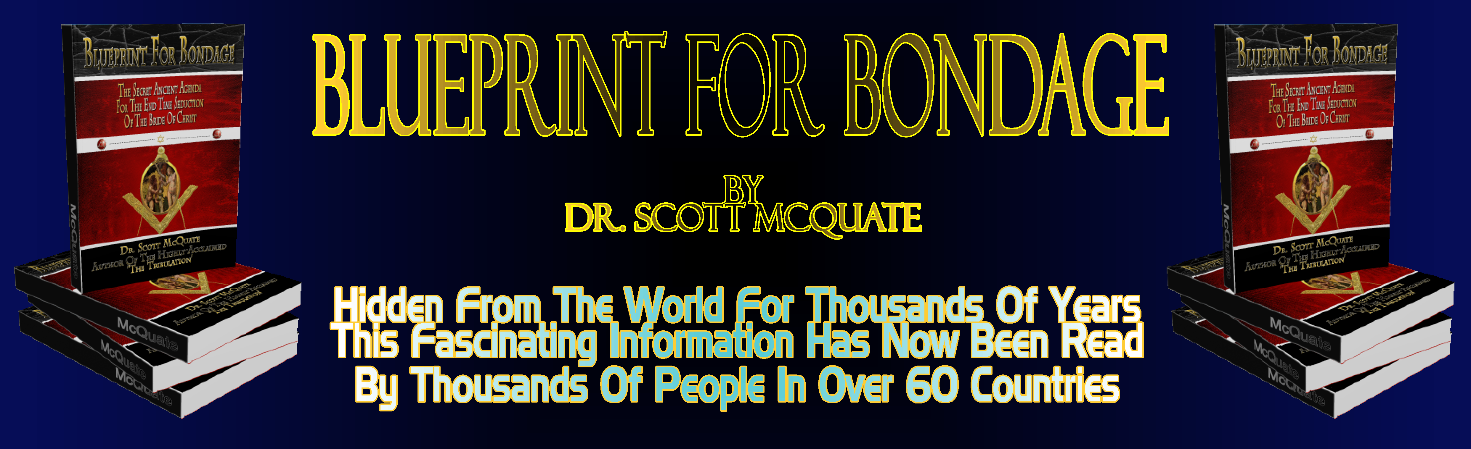 Blueprint For Bondage By Dr. Scott McQuate